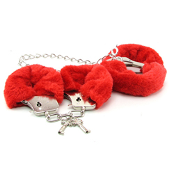 Furry Love Cuff Kit Red