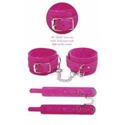 Pink Wrist Cuffs