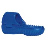 Blauwe vinger clip