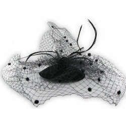 Mini Hat with Big Veil