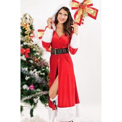 Lange Kerst Mantel