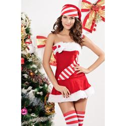 3 Delig Kerstjurkje - Candy Cane