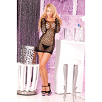 Nothing but net seamless mini-dress