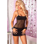 Adrenaline seamless net dress Black