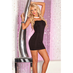 Stretch limo ruched dress