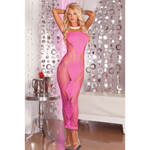 Zig-zag-zig seamless dress Pink