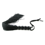 S&M Medium Whip: Black