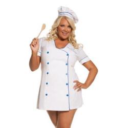 Sexy kokkin kostuum