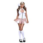 Privéschool Meisjes Kostuum - Wit