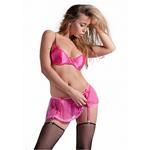 Pink Set with Bra,...