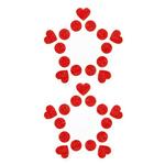 Nipple Sticker - Mini Harts
