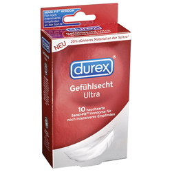Durex Sensitive Ultra Kondome - 10 Stück