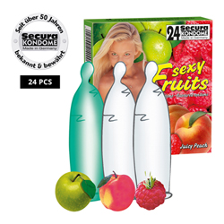 Secura Sexy Fruits 24pcs