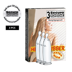 Secura Heavy Rubber 3 pcs
