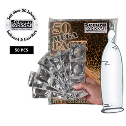 Secura Transparent 50pcs
