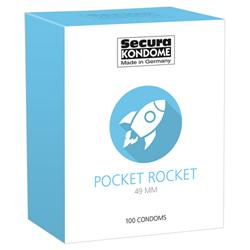 Secura Pocket Rocket Kondome - 100 Stück
