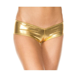 Micro Metallic Shorts GOLD