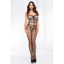 Crotchless Catsuit With Cut-Outs -2