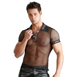 Men's shirt Wetlook