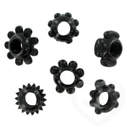 Silicone Stretch Rings Assorted