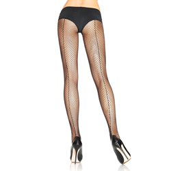Fishnet with back seam