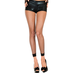 Fishnet Leggings - Black