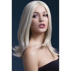 Fever Sophia Wig 17inch/43cm Blonde Long Layered with Centre Parting