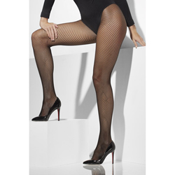Fishnet Tights Black Extra Large