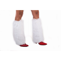 Furry Bootcovers White