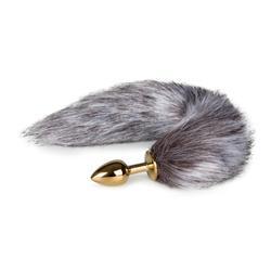 Fox Tail Plug No. 5 - Gold