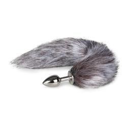 Fox Tail Plug No. 5 - Silver