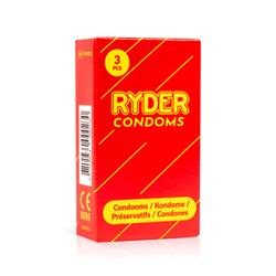Ryder Condoms - 3 Pcs.