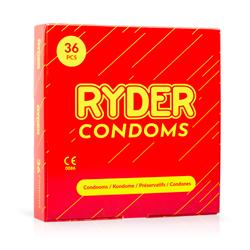 Ryder Condoms - 36 Pcs.