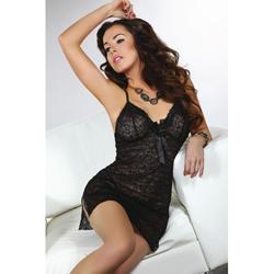 Zwart kanten jurkje Namid