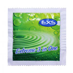 EXS Bulkpack 3 in 1 Extreme Condoms 100 pcs