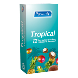 Pasante Tropical condoms 12pcs