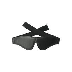 Strict Leather Velcro Blindfold