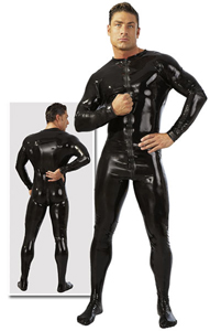 Latex heren overal