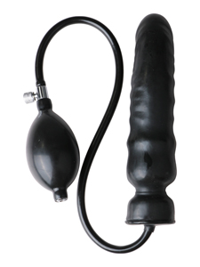 inflatable Latex Dildo