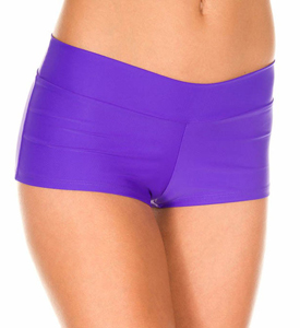 Paarse dames short
