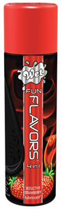 WET Fun Flavors Seductive Strawberry Glijmiddel - 122ml