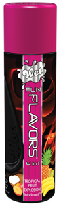 WET Fun Flavors Tropical Fruit Explosion Glijmiddel - 122ml
