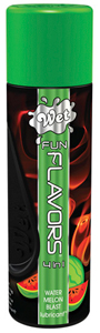 WET Fun Flavors Watermeloen Glijmiddel - 122ml