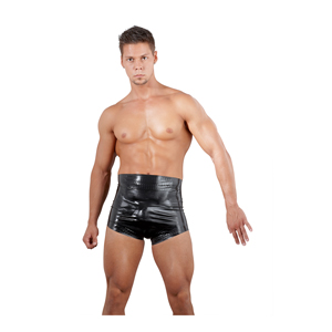 Latex boxershort hoge taille