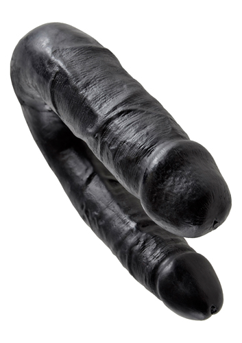 King Cock Medium Double Trouble Schwarz