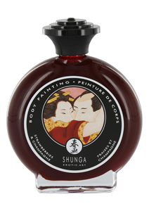 Shunga - Aardbeien & Champagne Bodypainting
