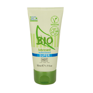 HOT BIO Superglide Waterbasis Glijmiddel - 50ml