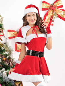 Miss Santa Costume 5pc