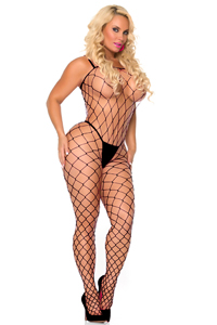 Fencenet Bodystocking - Schwarz