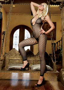 Bodystocking in Schwarz